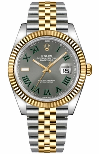 Rolex Datejust 41 Men's Luxury Watch 126333-0020