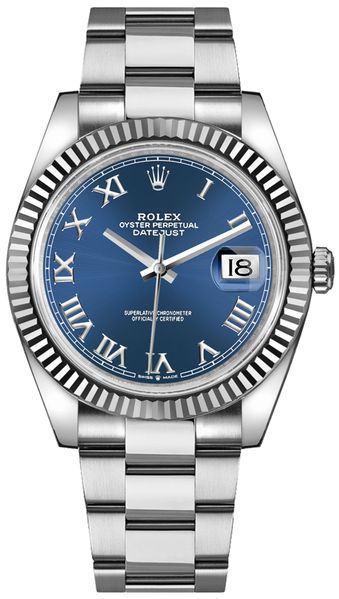 Rolex Datejust 41 Oystersteel Men's Watch 126334-0025