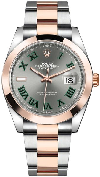 Rolex Datejust 41 Slate Grey Dial Men's Watch 126301
