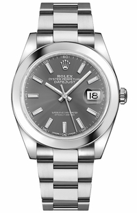 Rolex Datejust 41 Stainless Oystersteel Automatic Chronometer Men's Watch 126300-0007