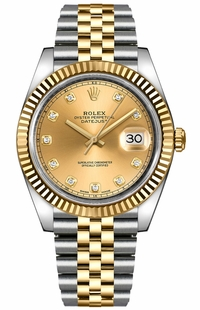 Rolex Datejust 41 Steel & Yellow Gold Men's Watch 126333-0012
