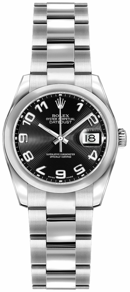 Rolex Lady-Datejust 26 Stainless Steel Watch 179160