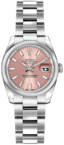 Rolex Lady-Datejust 26 Pink Dial Watch 179160