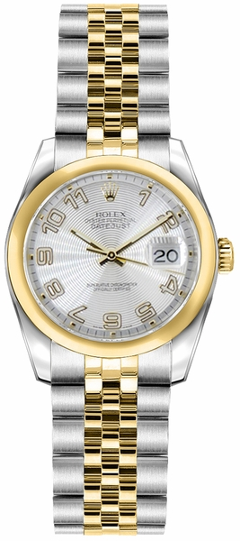 Rolex Lady-Datejust 26 Solid Gold & Steel Watch 179163