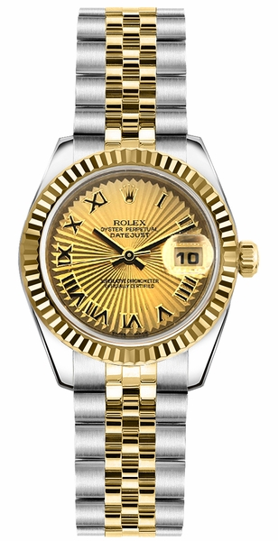 Rolex Lady-Datejust 26 Swiss Watch 179173