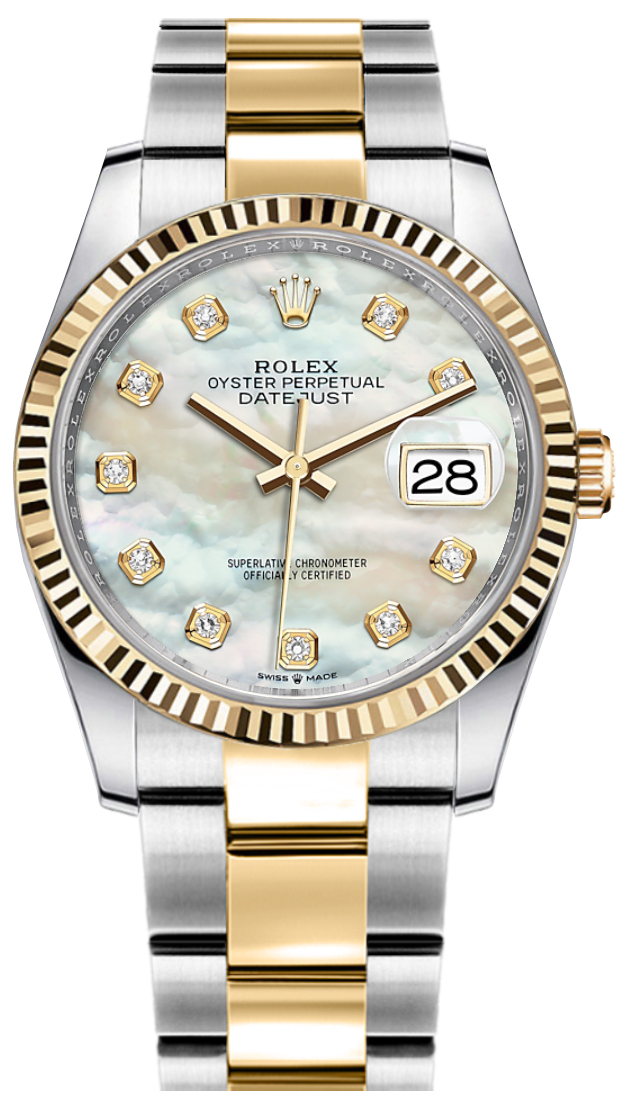 Rolex_Datejust_36_Mother_of_Pearl_Women's_Watch_126233