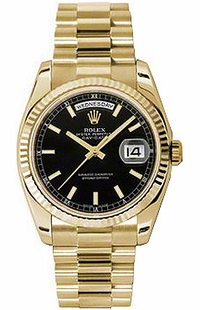 Rolex Day-Date 36 Yellow Gold Automatic Watch 118238