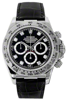 Rolex Cosmograph Daytona Black Dial Watch 116519