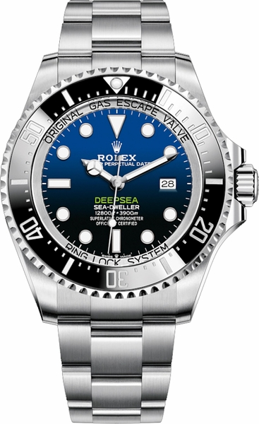Rolex Deepsea D-Blue Dial 44mm Men's Watch 126660