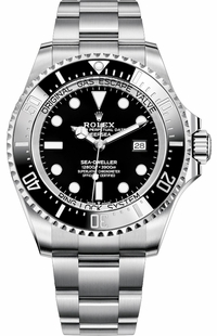 Rolex Deepsea 126660 Black Dial Oyster Steel Men's Watch