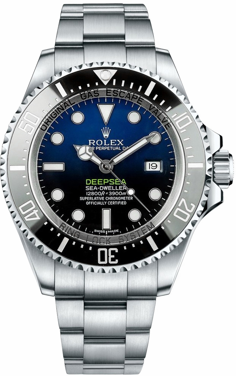 Rolex Deepsea D Blue Dial Luxury Men S Watch 116660