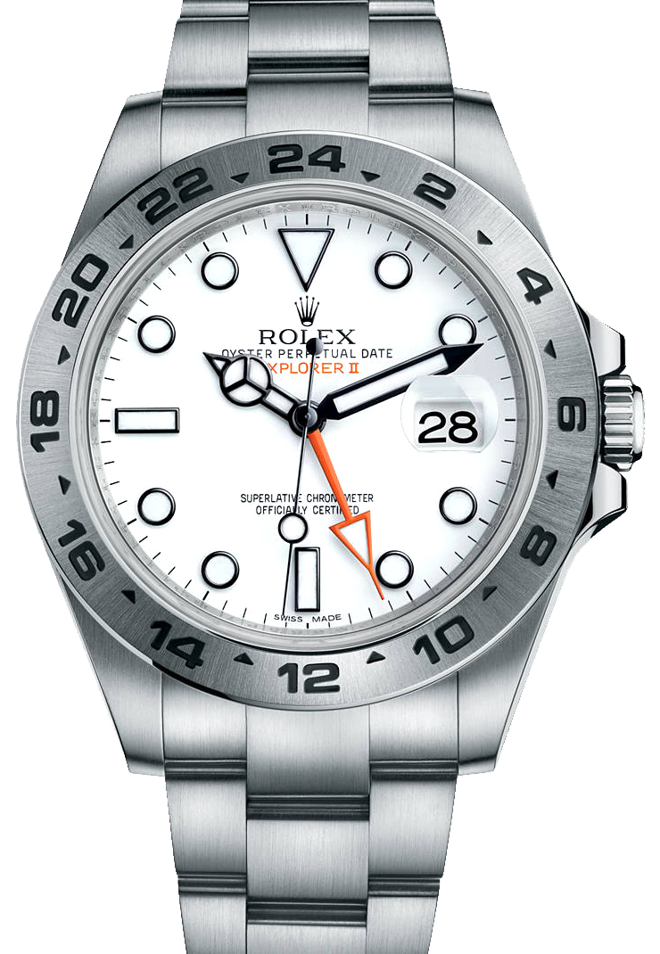 Rolex Explorer II White Dial Men\u0027s Watch 216570