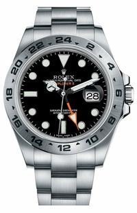Rolex Explorer II Stainless Steel Men's Watch 216570