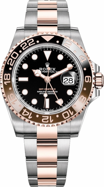 Rolex GMT-Master II Root Beer Men's Watch 126711CHNR