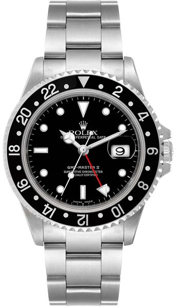 Rolex GMT-Master II Automatic Black Dial Men's Watch 16710