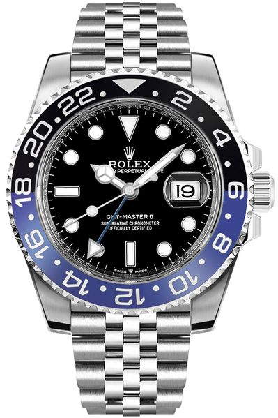 Rolex GMT-Master II Batman Jubilee Men's Watch 126710BLNR-0002