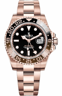Rolex GMT-Master II Root Beer Rose Gold 126715CHNR