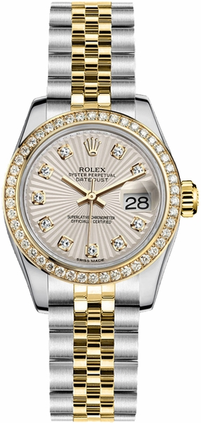 Rolex Lady-Datejust 26 Women's Watch 179383