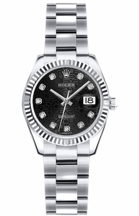 Rolex Lady-Datejust 26 White Gold Watch 179179