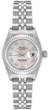 Rolex Lady-Datejust 26 Pink Mother of Pearl Women's Watch 79174
