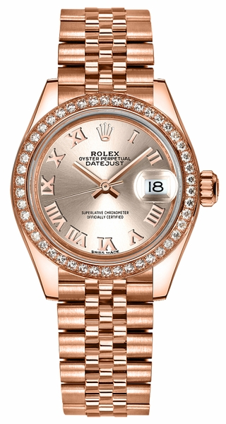 Rolex Lady-Datejust 28 Watch 279135RBR