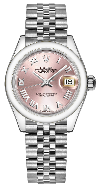 Rolex_Lady-Datejust_28_Pink_Dial_Watch_279160