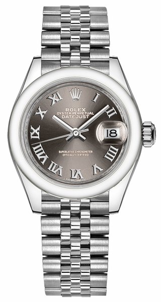 Rolex Lady-Datejust 28 Stainless Steel Watch 279160