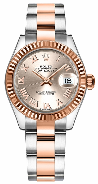 Rolex Lady-Datejust 28 Women's Gold & Steel Watch 279171