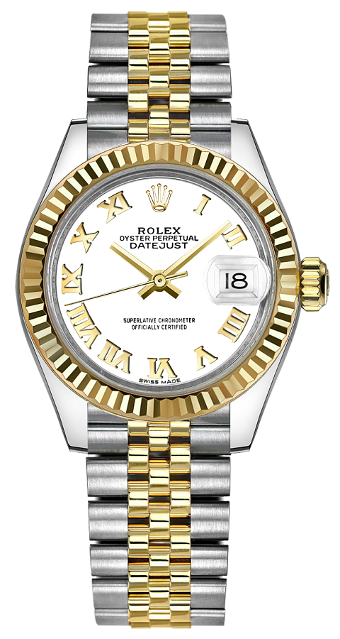 Buy Two Tone Rolex Lady Datejust 28 279173