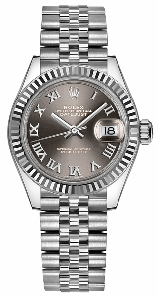 Rolex Lady-Datejust 28 Women's Steel Watch 279174