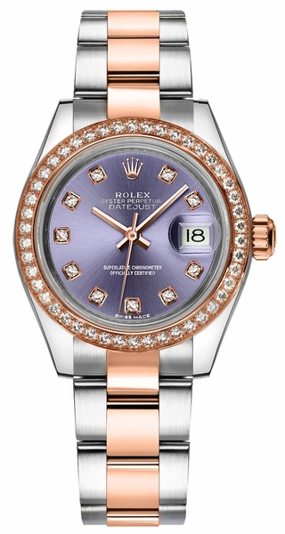 Rolex Lady-Datejust 28 Diamond Watch 279381RBR