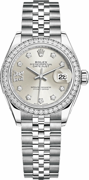 Rolex Lady-Datejust 28 Jubilee Bracelet Women's Watch 279384RBR