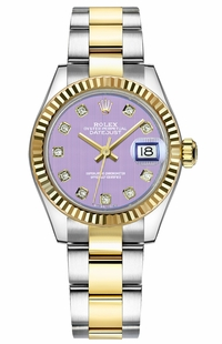 Rolex Lady-Datejust 28 Fluted Bezel Watch 279173