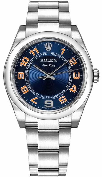 Rolex Oyster Perpetual Air-King Men's Watch 114200