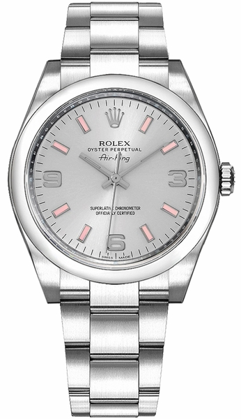 Rolex Oyster Perpetual Air-King Luxury Watch 114200