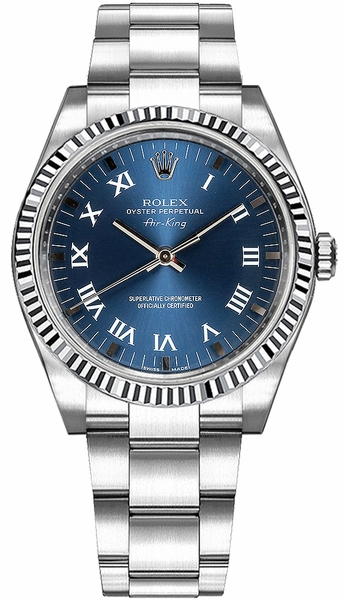Rolex Oyster Perpetual Air-King Stainless Steel Watch 114234