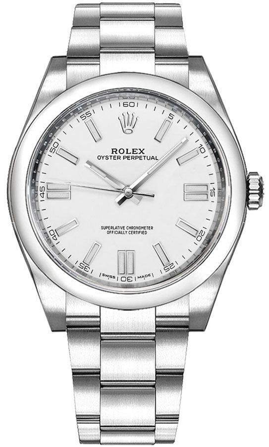 Rolex Oyster Perpetual 36 White Dial 116000