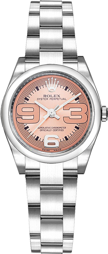 ROLEX | Rolex Oyster Perpetual 26 Stainless Steel Watch 176200 | Goxip