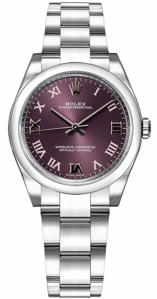 Rolex Oyster Perpetual 31 Steel & White Gold Watch 177200