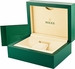 Rolex Oyster Perpetual 26 Steel & White Gold Bezel Watch 176234 - image 1