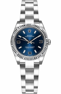 Rolex Oyster Perpetual 26 Blue Dial Automatic Watch 176234