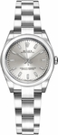 Rolex Oyster Perpetual 26 Silver Dial Watch 176200