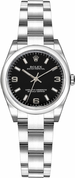 Rolex Oyster Perpetual 26 Steel Women's Watch 176200