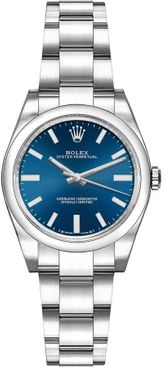 Rolex Oyster Perpetual 28 Blue Dial Women's Watch 276200-0003