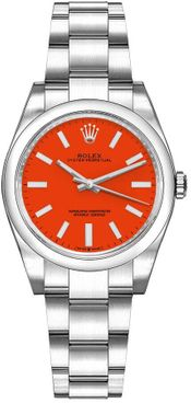 Rolex Oyster Perpetual 31 Coral Red Women's Watch 277200-0008