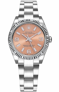 Rolex Oyster Perpetual 31 Pink Dial Watch 177234
