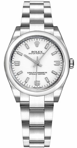 Rolex Oyster Perpetual 31 White Dial Automatic Watch 177200
