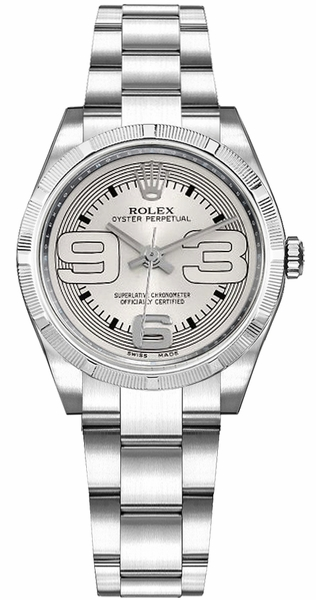 Rolex Oyster Perpetual 31 Stainless Steel Women's Watch 177210