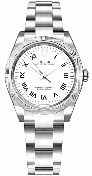 Rolex Oyster Perpetual 31 White Dial Women's Watch 177210