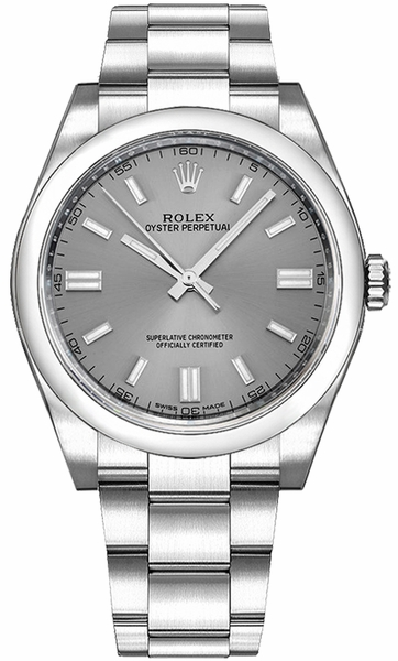 Rolex Oyster Perpetual 36 Steel Dial Swiss Watch 116000
